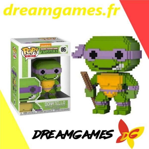 Figurine Pop TMNT 05 Donatello 8-bit