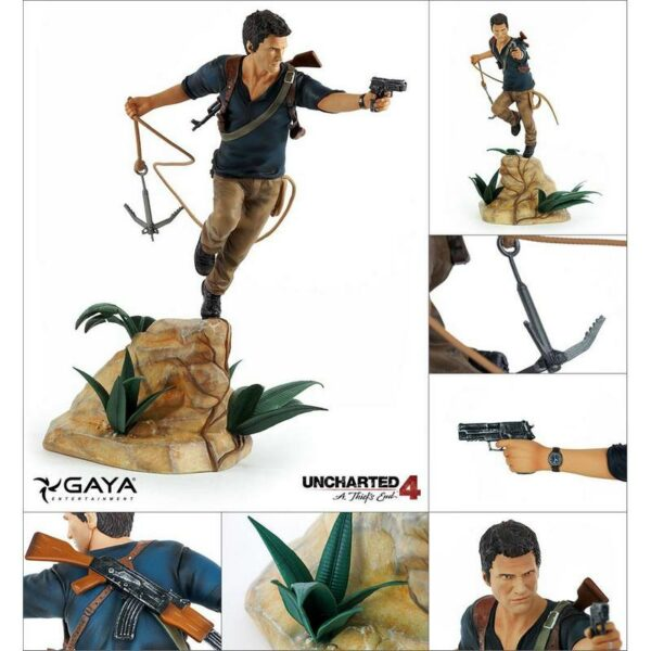 Nathan Drake Statue PVC 30 cm Uncharted 4 1