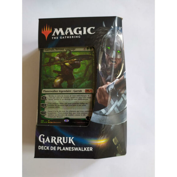 Magic the Gathering GARRUK Deck de Planeswalker Edition 2021