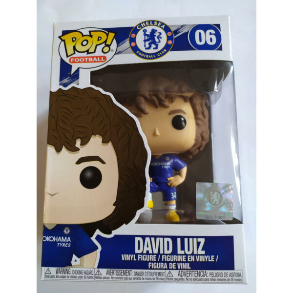 Figurine Pop Football 06 David Luiz 1