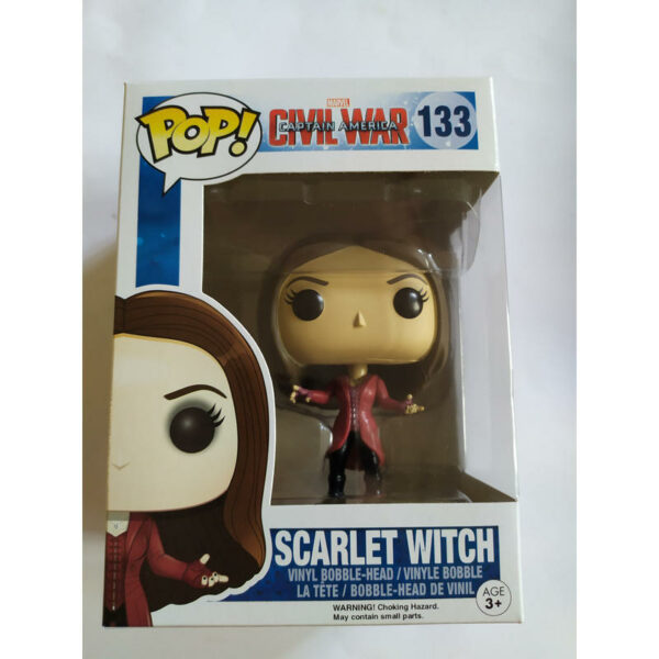 Figurine Pop Marvel 133 Scarlet Witch 1