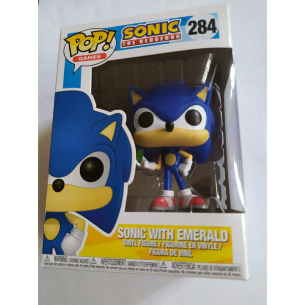 Figurine Pop Sonic with emerald 284 1
