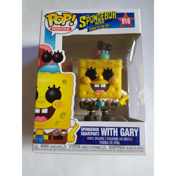 Figurine Pop Spongebob Squarepants 916 with Gary 1