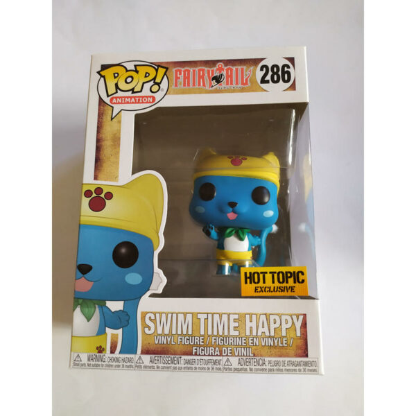 Figurine Pop Fairy Tail 286 Swim Time Happy 1