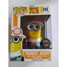 Figurine Pop Despicable Me 3 Tourist Jerry Metallic