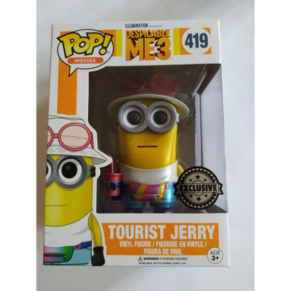 Figurine Pop Despicable Me 3 Tourist Jerry Metallic