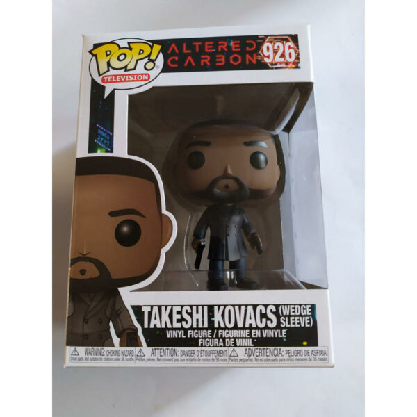Figurine Pop Altered Carbon 926 Takeshi Kovacs (Wedge Sleeve) 1