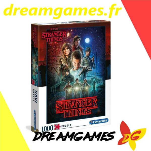 Puzzle Stranger Things 1000 pièces