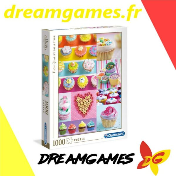 Puzzle 1000 pièces Sweet Donuts