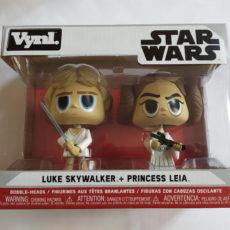 Vynl Star Wars Luke Skywalker + Princess Leia