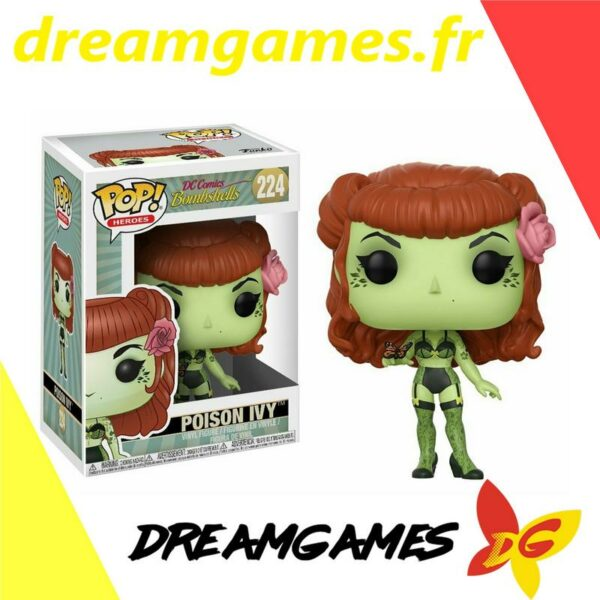 Figurine Pop DC Bombshells 224 Poison Ivy