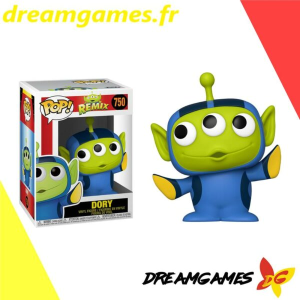 Figurine Pop Disney Pixar Remix 750 Alien Dory