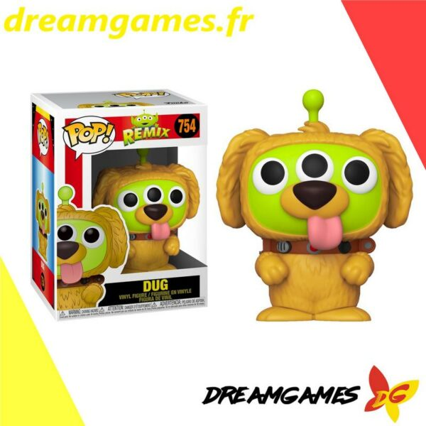 Figurine Pop Disney Pixar Remix 754 Alien Dug