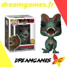 Figurine Pop Jurassic Park 550 Dilophosaurus Chase