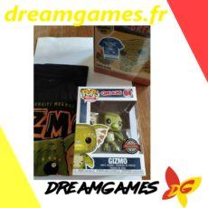 Figurine Pop Gremlins 04 Gizmo + tee shirt M