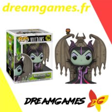 Figurine Pop Villains 784 Maleficent on throne