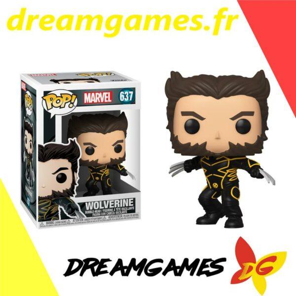 Figurine Pop Marvel 637 Wolverine