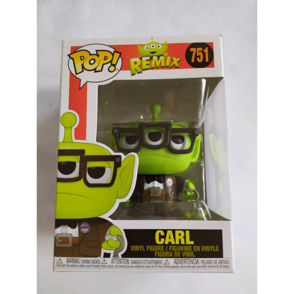 Figurine Pop Disney Pixar Remix 751 Alien Carl 1