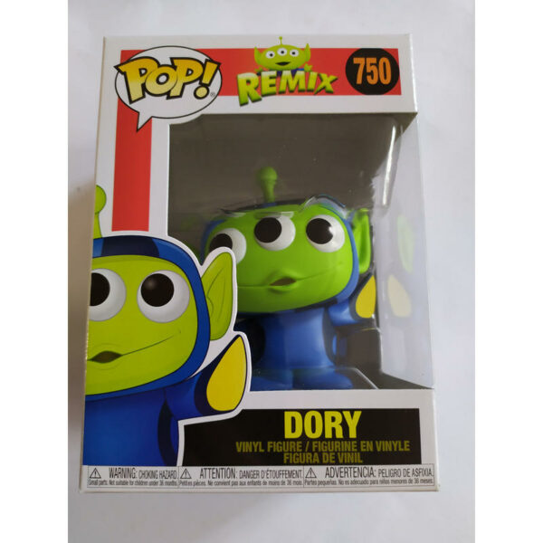 Figurine Pop Disney Pixar Remix 750 Alien Dory 1