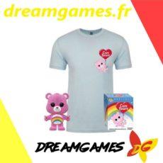 Figurine Pop Care Bears 351 flocked + tee shirt M
