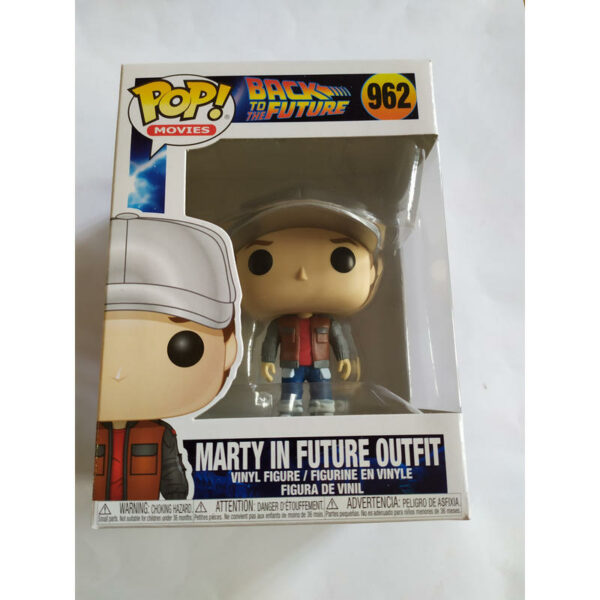 Figurine Pop Back to the Future 962 Marty in future outfit 1