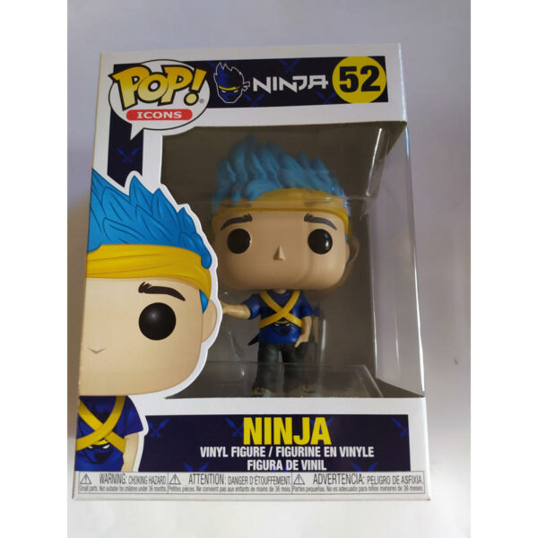 Figurine Pop Icons 52 Ninja 1