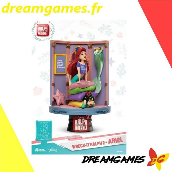Diorama Stage 023 Wreck-It Ralph 2 Ariel