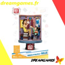 Diorama Stage 024 Wreck-It Ralph 2 Belle