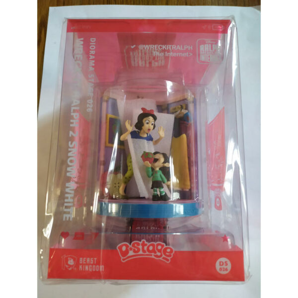 Diorama Stage 026 Wreck-It Ralph 2 Snow White 1