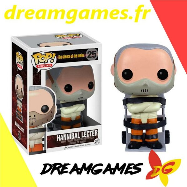 Figurine Pop The Silence of the Lambs 25 Hannibal Lecter