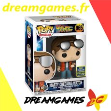 Figurine Pop Back to the Future 965 Marty checking watch
