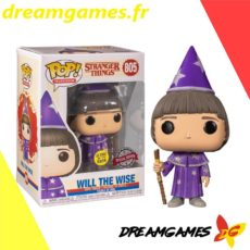 Figurine Pop Stranger Things 805 Will the Wise Glows in the dark