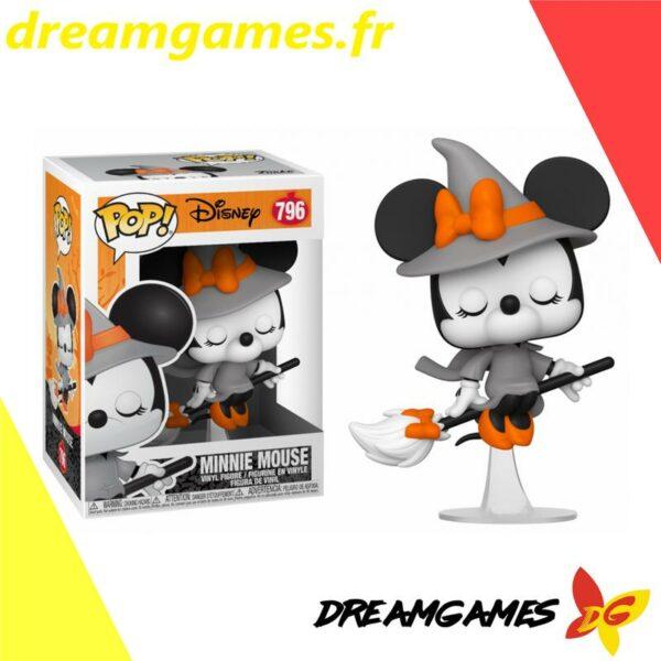 Figurine Pop Disney 796 Witchy Minnie Mouse