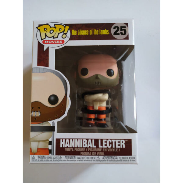Figurine Pop The Silence of the Lambs 25 Hannibal Lecter 1
