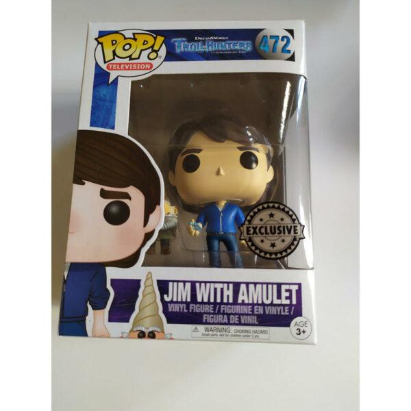 Figurine Pop Trollhunters 472 Jim with amulet 1
