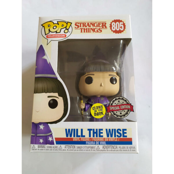 Figurine Pop Stranger Things 805 Will the Wise Glows in the dark 1