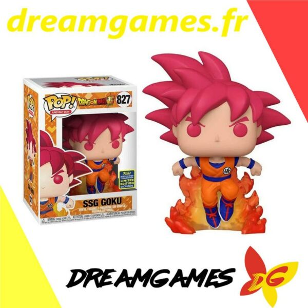Figurine Pop Dragon Ball Super 827 SSG Goku