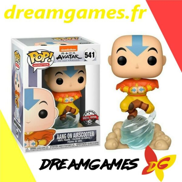 Figurine Pop Avatar 541 Aang on Airscooter