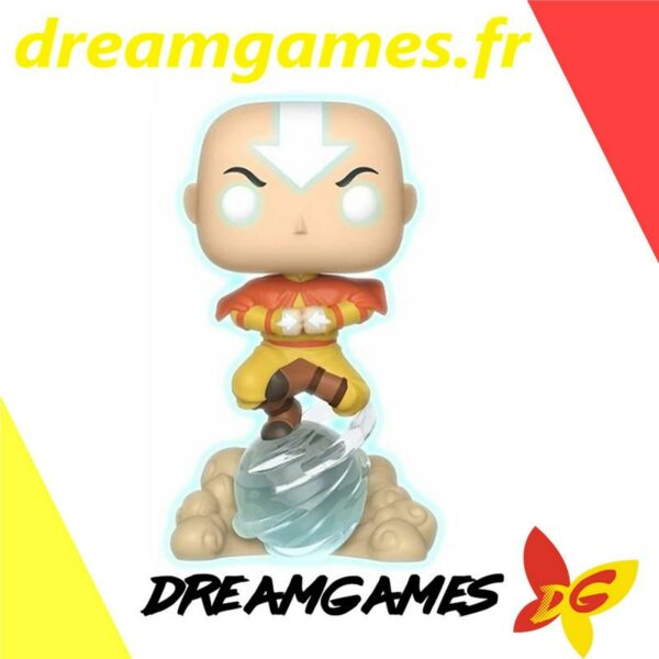 Figurine Pop Avatar 541 Aang on airscooter CHASE