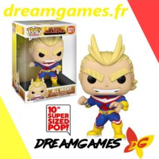 "Figurine Pop My Hero Academia 821 All Might 10"" Kingsize"