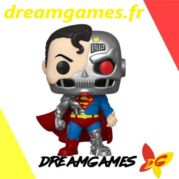 Figurine Pop DC Super Heroes 346 Cyborg Superman