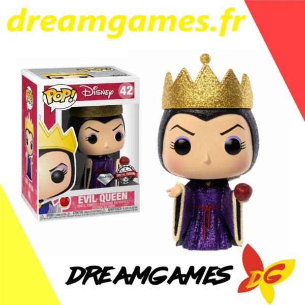 Figurine Pop Disney 42 Evil Queen Diamond Glitter