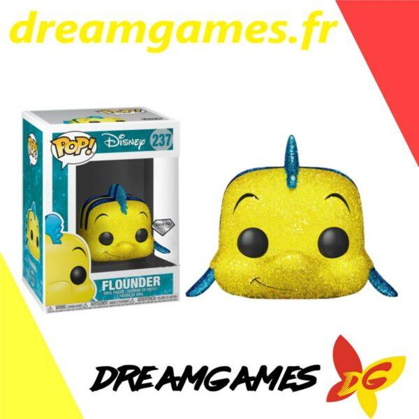 Figurine Pop Disney 237 Flounder Diamond Glitter