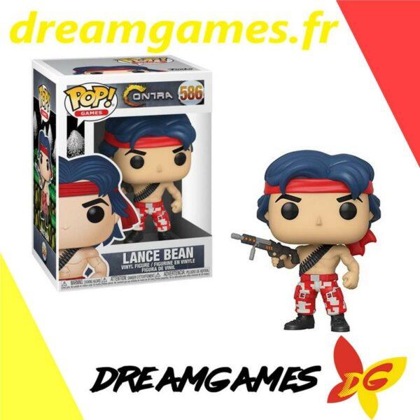 Figurine Pop Contra 586 Lance Bean