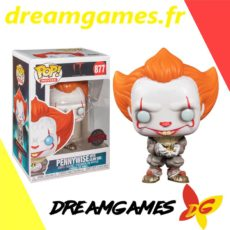 Figurine Pop It 877 Pennywise with glow bug