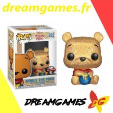 Figurine Pop Disney 252 Winnie the Pooh Diamond Glitter