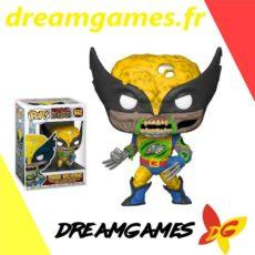 Figurine Pop Marvel Zombies 662 Zombie Wolverine