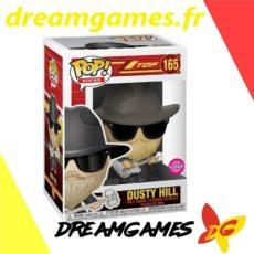 Figurine Pop ZZ Top 165 Dusty Hill