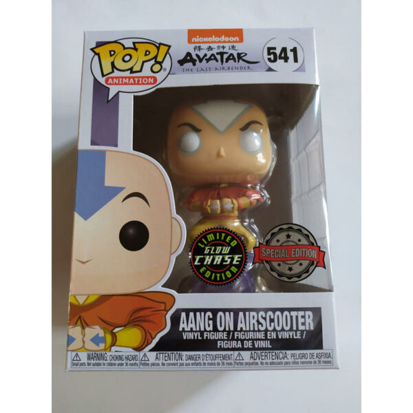Figurine Pop Avatar 541 Aang on airscooter CHASE 1