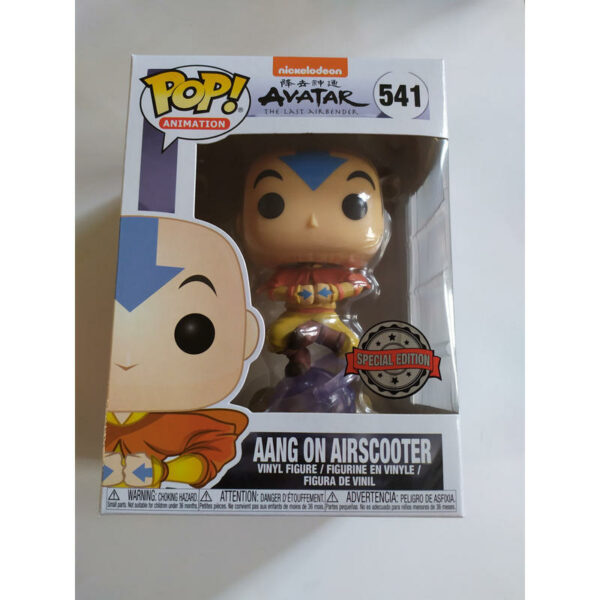 Figurine Pop Avatar 541 Aang on Airscooter 1